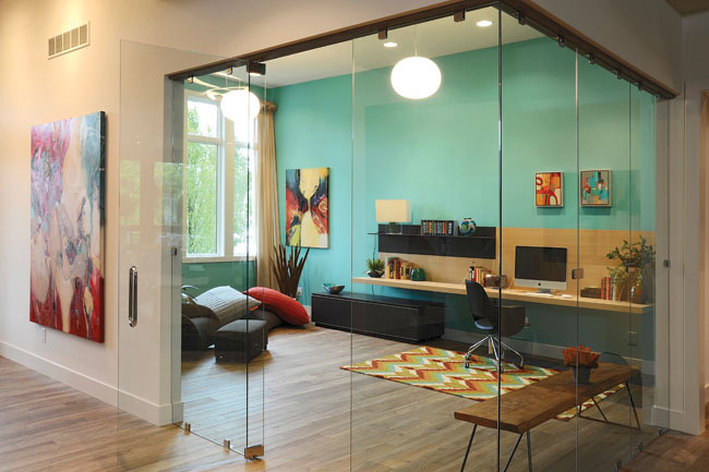 Beautiful Glass Partitions for your Home or Office