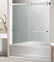 Bypass Bathtub Enclosure Euro Series