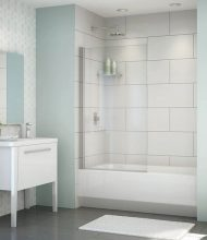Frameless Bathtub Glass Panel