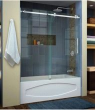 Frameless Bathtub Systems Monaco Series