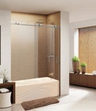 Frameless Bathtub Systems Virginia Series 2 Wheels