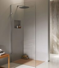 Frameless Shower Glass Panel