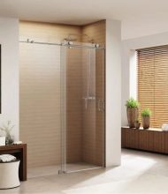 Frameless Shower Systems Virginia Series 2 Wheels