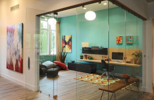 Glass Walls For Home Office